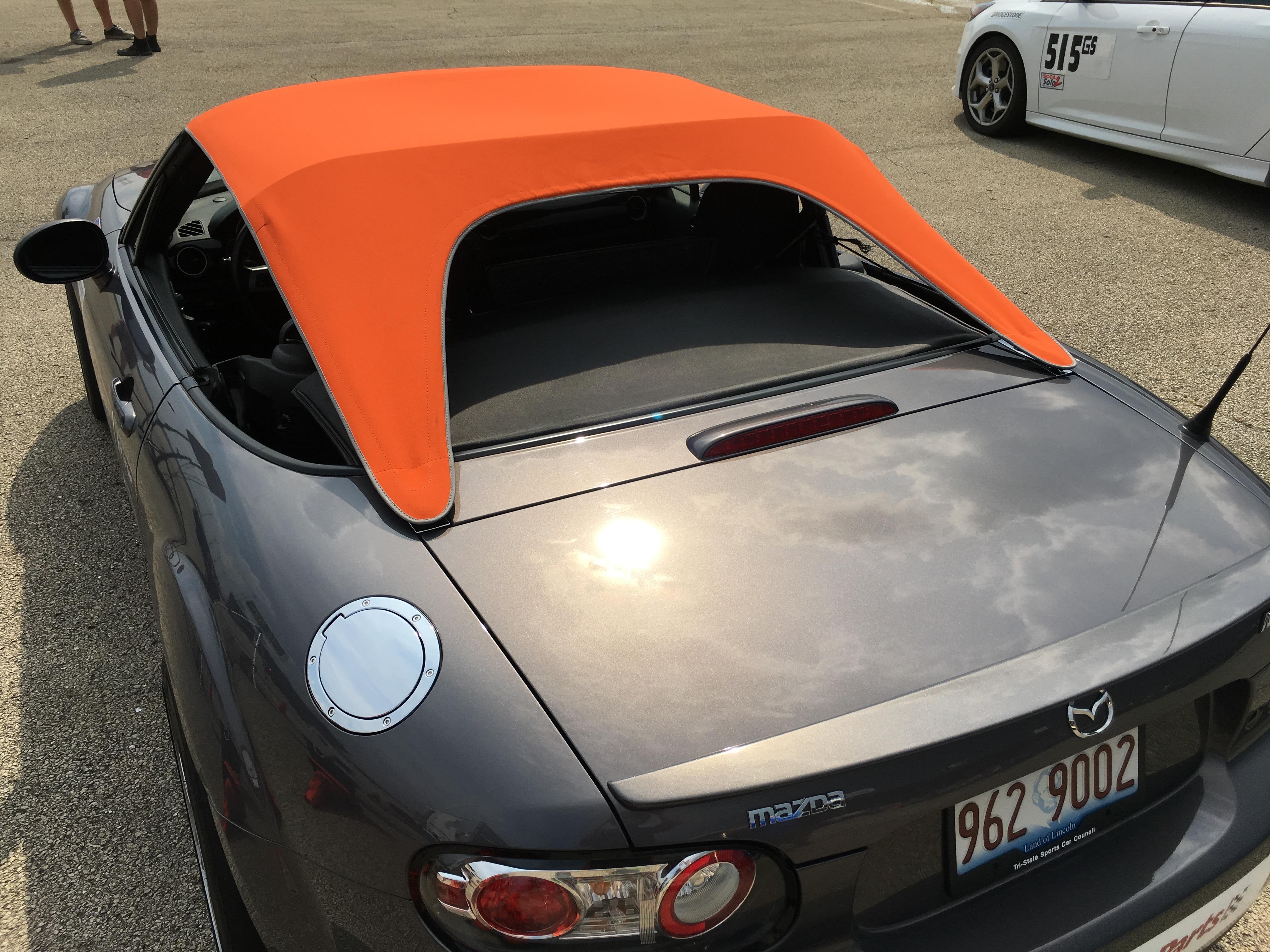Spyder/Bikini Top Build Photos